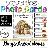 Vocabulary Photo Cards - Gingerbread House