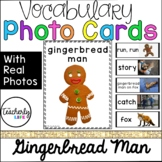 Vocabulary Photo Cards - Gingerbread Man