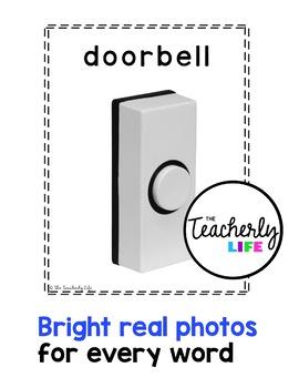 Vocabulary Photo Cards - Halloween