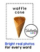 Vocabulary Photo Cards - Ice Cream Parlour