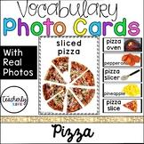 Vocabulary Photo Cards - Pizza