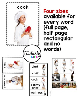 Vocabulary Photo Cards - Restaurant