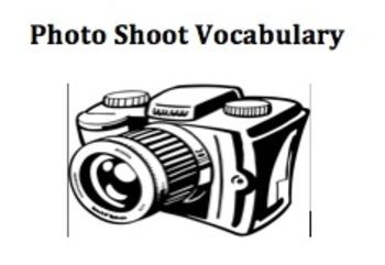 Vocabulary Photo Shoot