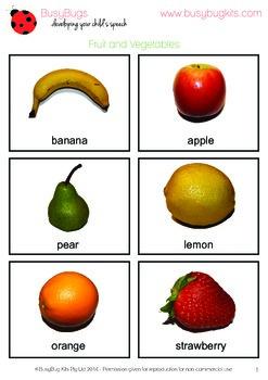 Vocabulary Photos - set of 100