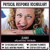 Vocabulary: Physical Response Vocabulary Instruction for G