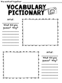 Vocabulary Pictionary