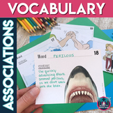 Vocabulary Picture Association Activities for Any Word List