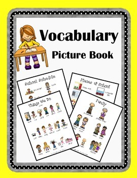Vocabulary Picture Book