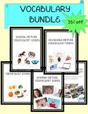 Vocabulary Picture Card Bundle