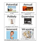 Vocabulary Picture Card Sets