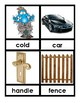 Vocabulary  Picture Cards Great for ESL's