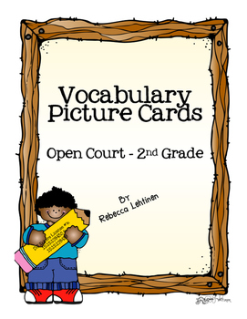 Vocabulary Picture Cards - Open Court 2002 - 2nd Grade