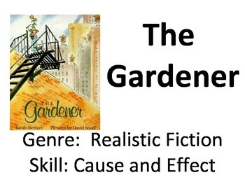 Vocabulary Picture Cards for The Gardener