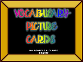 Vocabulary Picture Cards Compilation Booklet