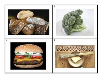 Picture Vocabulary Library: Food