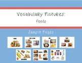 Vocabulary Pictures - Food
