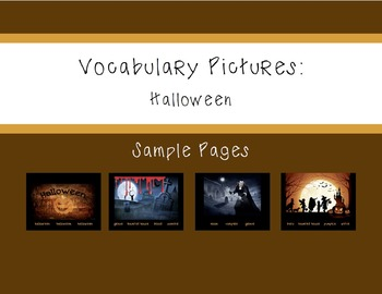 Vocabulary Pictures - Halloween