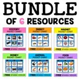 Vocabulary Pocket Chart Bundle