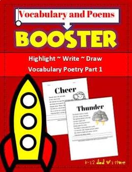 Vocabulary & Poem Activities