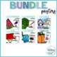 Vocabulary Poster Bundle in Spanish