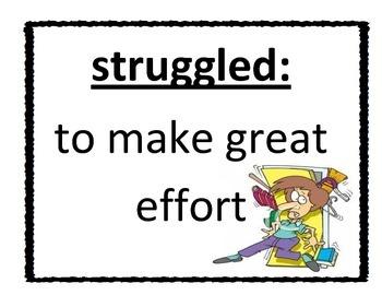 Vocabulary Posters:  Grade 3 - Unit 1, Imagine It!