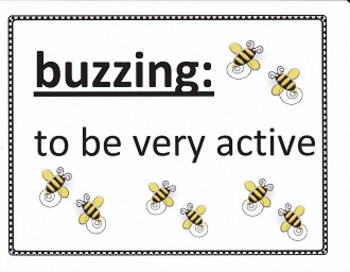 Vocabulary Posters:  Grade 4 - Unit 5, Imagine It!