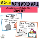Vocabulary Posters for Geometry- Common Core Aligned #christmasinjuly