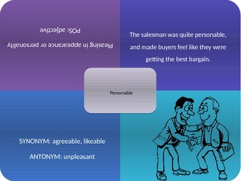 Vocabulary Power Point, Sadlier-Oxford, Level C, Chapter 10