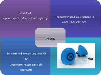 Vocabulary Power Point, Sadlier-Oxford, Level C, Chapter 14