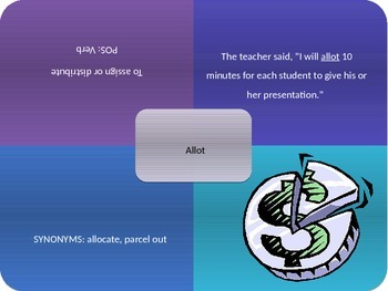 Vocabulary Power Point, Sadlier-Oxford, Level C, Chapter 3