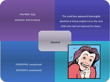 Vocabulary Power Point, Sadlier-Oxford, Level C, Chapter 6