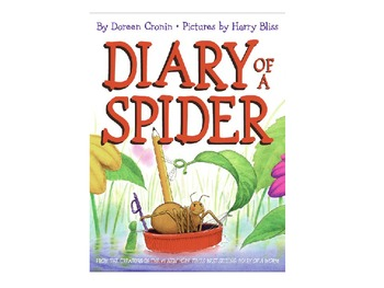 Vocabulary Power Point for Diary of A Spider