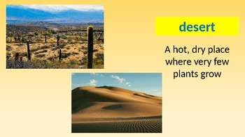 Vocabulary PowerPoint--National Geographic Reach for Reading--3rd Grade--U3/W3