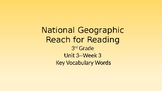 Vocabulary PowerPoint--National Geographic Reach for Readi