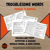 Vocabulary: Troublesome Words Activities & Quizzes
