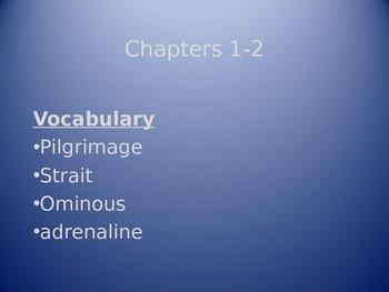 Vocabulary PowerPoint for Will Hobbs's Wild Man Island