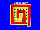 Common Core: Vocabulary Powerpoints (Spelling and Vocabula