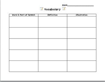 Vocabulary Practice