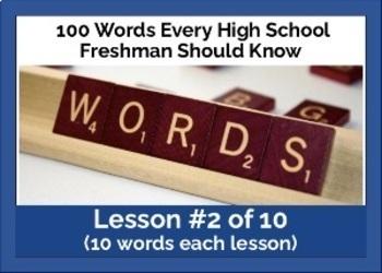Vocabulary Practice 2
