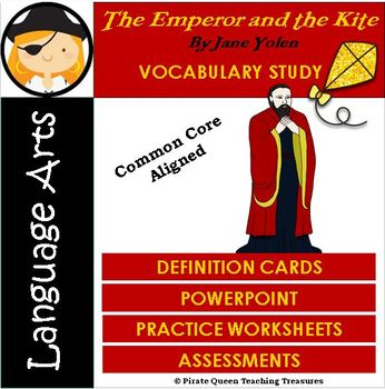 The Emperor and the Kite Vocabulary Activities