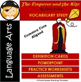 The Emperor and the Kite Vocabulary Activities/CCSS Aligne