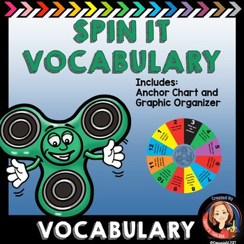 Vocabulary Practice Game Spin It with any Vocabulary Words