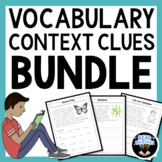 Vocabulary: Practice Using Context Clues Bundle