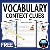 Vocabulary: Practice Using Context Clues FREEBIE