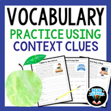 Context Clues Worksheets | Vocabulary Context Clues Activities Grades 6-9