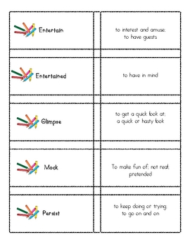 Vocabulary Practice from Wordly Wise lesson 5 Grade 4