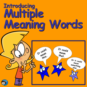Introducing Multiple Meaning Words