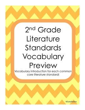 Vocabulary Previews for Literature Standards