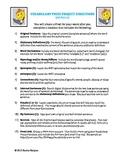 Vocabulary Prezi Project (w/ Common Core Standards)