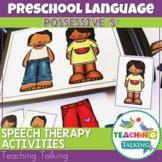 Preschool Language Activity & Boom Cards